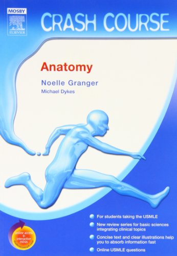 9780323043199: Crash Course (US):  Anatomy, 1e