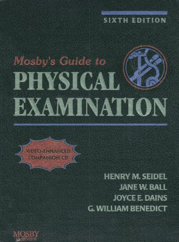 9780323043205: Health Assessment Online for Mosby's Guide to Physical Examination (User Guide, Access Code, and Textbook Package)