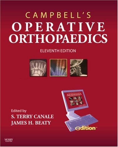 9780323044493: Campbell's Operative Orthopaedics e-dition: Text with Continually Updated Online Reference, 11e