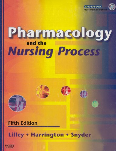 9780323044905: Pharmacology and the Nursing Process - Text and Study Guide Package, 5e