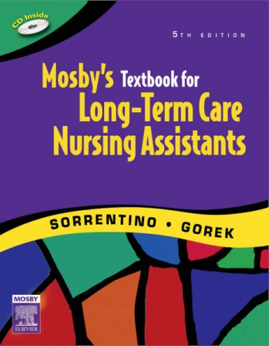 9780323045186: Mosby's Textbook for Long-Term Care Nursing Assistants, 5e