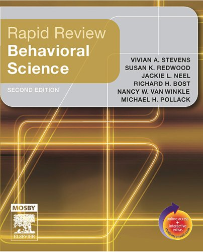 9780323045711: Rapid Review Behavioral Science: With STUDENT CONSULT Online Access, 2e