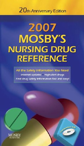 9780323045902: Mosby's 2007 Nursing Drug Reference 20th Anniversary Edition  (Mosby's Nursing Drug Reference)
