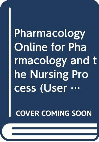 Pharmacology Online 2.0 for Pharmacology and the: Linda Lane Lilley,