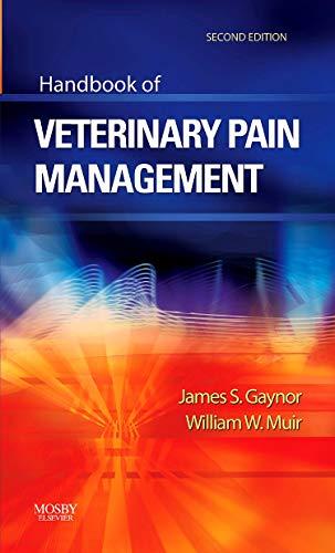 9780323046794: Handbook of Veterinary Pain Management, 2e