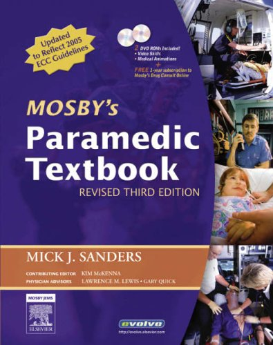 9780323046916: Mosby's Paramedic Textbook - Revised Reprint, 3e