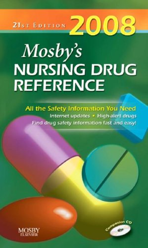 2008 Mosby's Nursing Drug Reference - WITH CD ROM