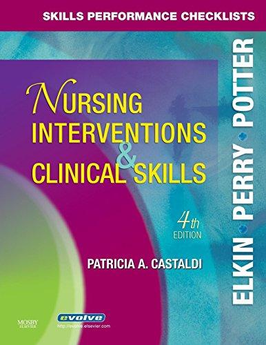 9780323047364: Skills Performance Checklists for Nursing Interventions & Clinical Skills