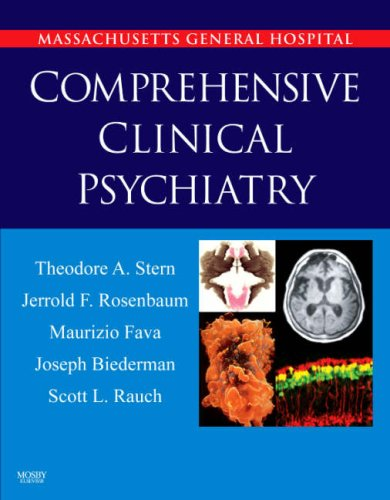 9780323047432: Massachusetts General Hospital Comprehensive Clinical Psychiatry [With Expert Consult Online + Print]