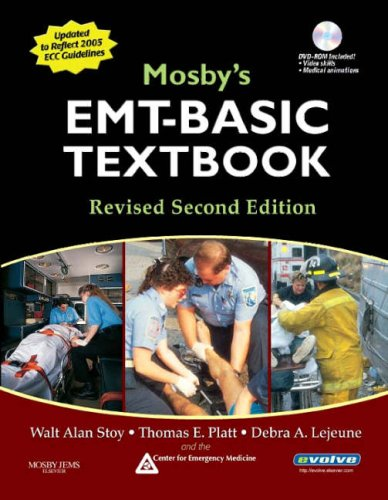 9780323047654: Mosby's EMT-Basic Textbook (Hardcover) - Revised Reprint, 2e