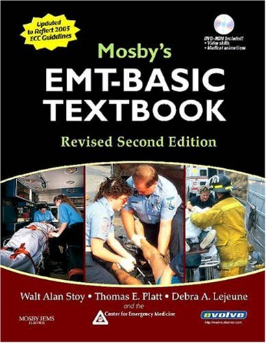 9780323047661: Mosby's EMT-Basic Textbook (Softcover) - Revised Reprint, 2e