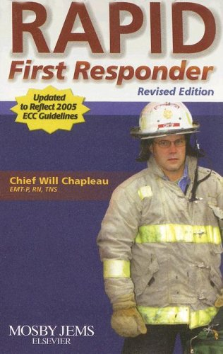9780323048514: RAPID First Responder Pocket Guide - Revised Reprint