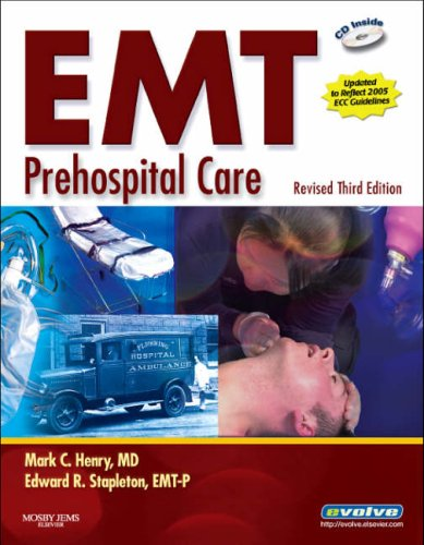 9780323048668: EMT Prehospital Care - Revised Reprint, 3e