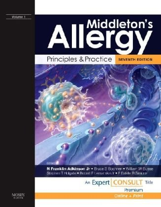 9780323048842: Middleton's Allergy: Principles and Practice: Expert Consult Premium Edition: Enhanced Online Features and Print, 2-Volume Set, 7e (Allergy (Middleton))
