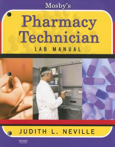 9780323048934: Mosby's Pharmacy Technician Lab Manual