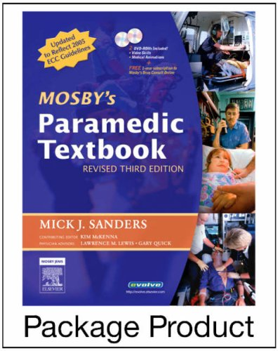 9780323049351: Mosby's Paramedic Textbook - Revised Reprint - Text and VPE Package, 3e