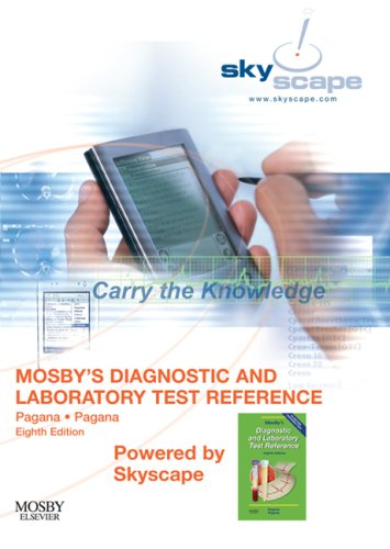 9780323049481: Mosby's Diagnostic and Laboratory Test Reference - CD-ROM PDA Software Powered by Skyscape (Mosby's Diagnostic & Laboratory Test Reference (Pagana))