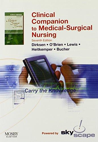 Clinical Companion to Medical Surgical Nursing -: Ian Camera RN