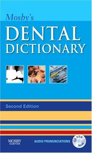 9780323049634: Mosby's Dental Dictionary, 2e