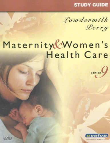9780323049993: Study Guide for Maternity & Women's Health Care, 9e