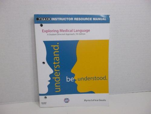 9780323051002: Exploring Medical Language 7th Edition by Myrna LaFleur Brooks (2009-05-03)