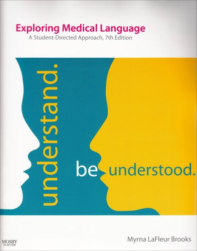 9780323051835: Exploring Medical Language: A Student-Directed Approach, 7th Edition - (Text and Audio CD Package)
