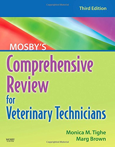 9780323052146: Mosby's Comprehensive Review for Veterinary Technicians