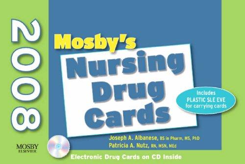9780323052207: Mosby's 2008 Nursing Drug Cards, 18e