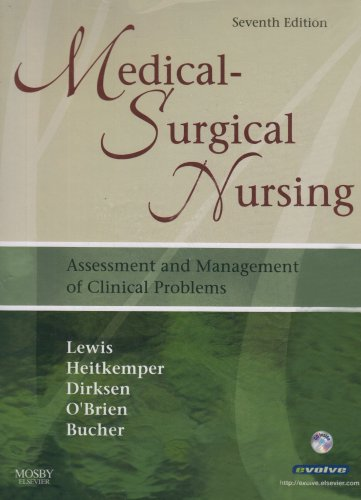 9780323052276: Medical-Surgical Nursing - Single Volume Text and Virtual Clinical Excursions Package: Assessment and Management of Clinical Problems, 7e (Mosby's Medical-Surgical Nursing (Single Edition))