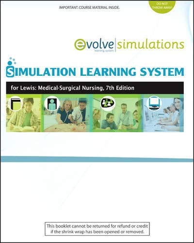 Simulation Learning System For Lewis: Medical-Surgical Nursing: Lewis RN PhD
