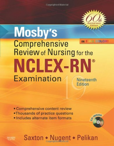 9780323053044: Mosby's Comprehensive Review of Nursing for the NCLEX-RN Examination: 60th Anniversary Edition