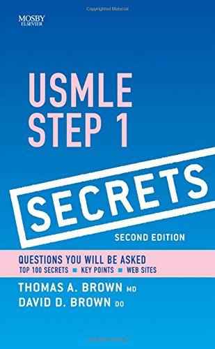 9780323054393: USMLE Step 1 Secrets, 2nd Edition