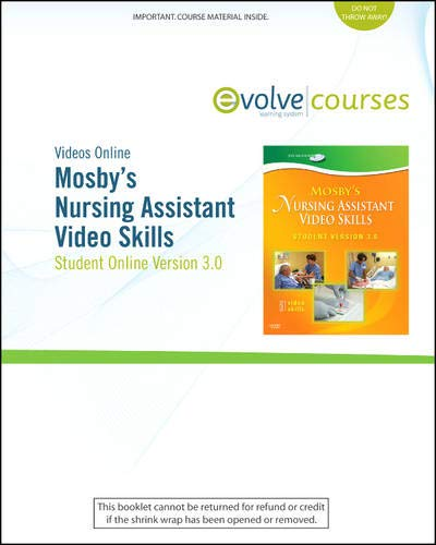 9780323056243: Mosby's Nursing Assistant Video Skills: Student Online Version 3.0 (Access Code), 3e