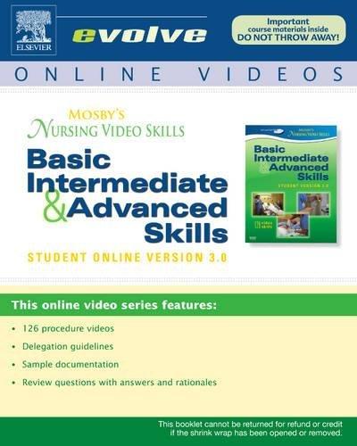 9780323056335: Mosby's Nursing Video Skills: Student Online Version (Access Code), 3e (Mosby's Nursing Video Skills Version 3.0)