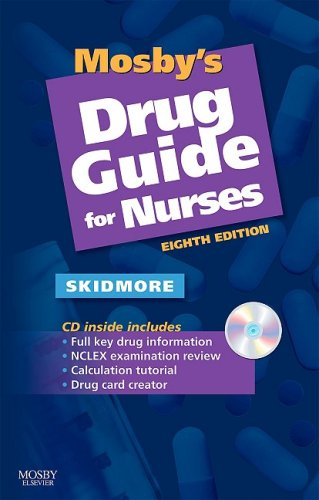 9780323056632: Mosby's Drug Guide for Nurses, 8e