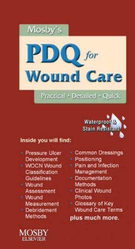 9780323056670: Mosby's PDQ for Wound Care, 1e