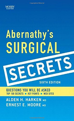 9780323057110: Abernathy's Surgical Secrets, 6e