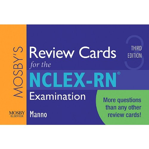 9780323057424: Mosby's Review Cards for the NCLEX-RN® Examination, 3e