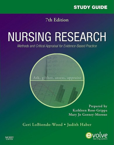 Test Bank for Nursing Research, 7th Edition: Geri LoBiondo-Wood