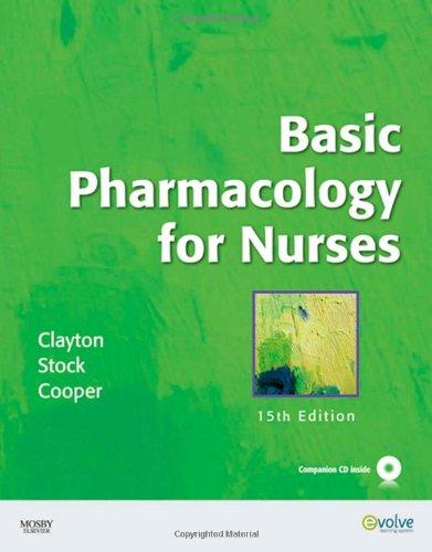 9780323057806: Basic Pharmacology for Nurses, 15th Edition