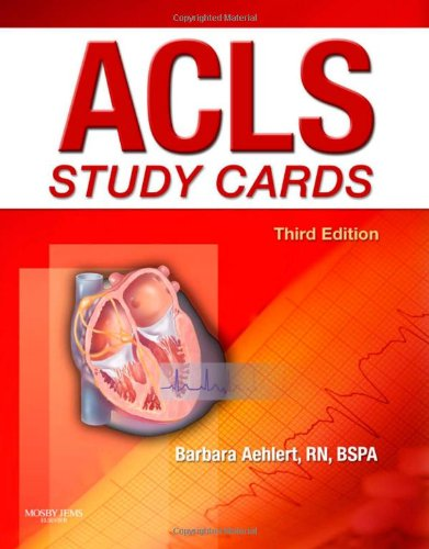 9780323058100: ACLS Study Cards
