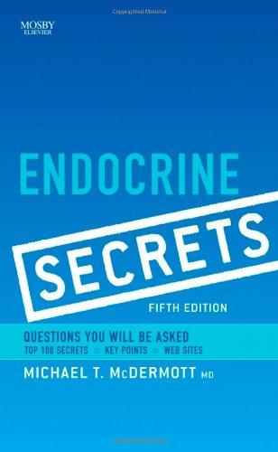 9780323058858: Endocrine Secrets, 5e