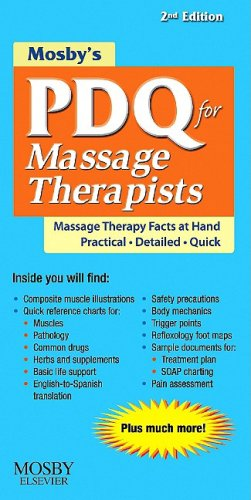 9780323063647: Mosby's PDQ for Massage Therapists