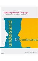 9780323064903: Medical Terminology Online to Accompany Exploring Medical Language (Access Code, Textbook and Mosby's Dictionary 8e Package), 7e