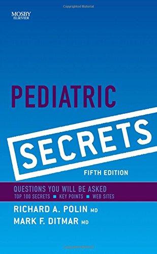 9780323065610: Pediatric Secrets, 5e