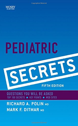 9780323065610: Pediatric Secrets