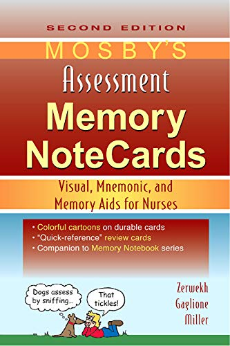 9780323067454: Mosby's Assessment Memory NoteCards: Visual, Mnemonic, and Memory Aids for Nurses, 2e