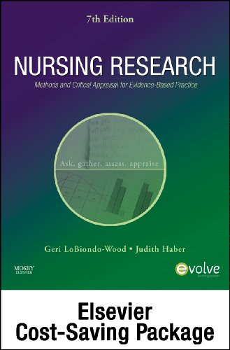 9780323067577: Nursing Research - Text and Study Guide Package: Methods and Critical Appraisal for Evidence-Based Practice