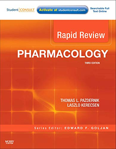 9780323068123: Rapid Review Pharmacology: With STUDENT CONSULT Online Access, 3e