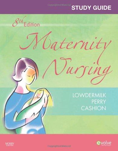 9780323071956: Study Guide for Maternity Nursing, 8e